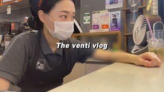 [더벤티 Cafe Vlog] 많은 응원 디엠을 받는 나…