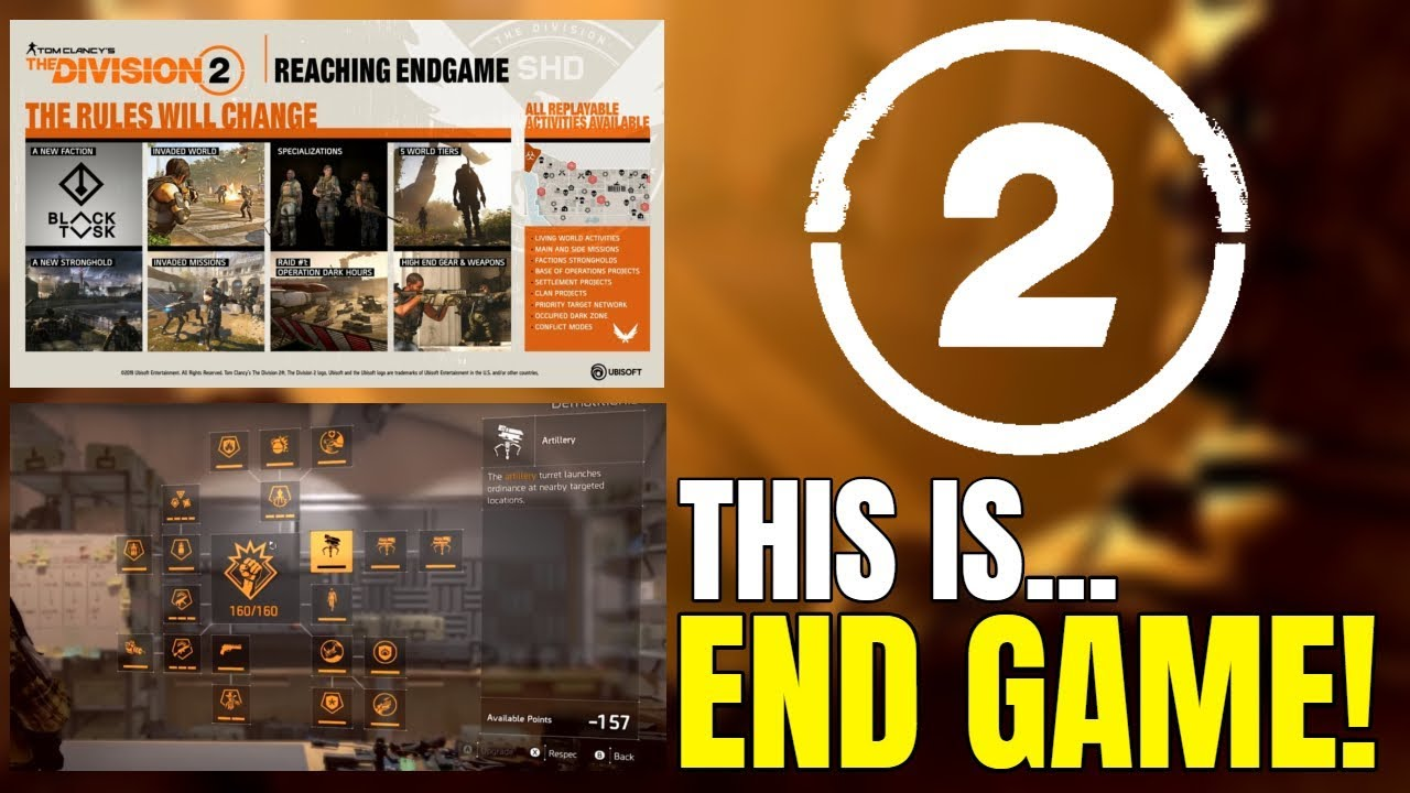 The Division 2 End Game News Specialization Skill Trees Clan
