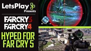 Far Cry 3 & 4: Getting Hyped About Far Cry 5 With Achievement Hunter | Let's Play Presents | Ubisoft