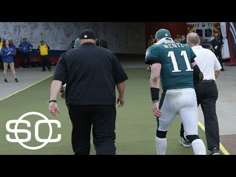 Eagles fear Carson Wentz has torn ACL | SportsCenter | ESPN