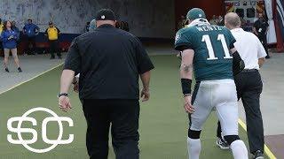 Eagles fear Carson Wentz has torn ACL | SportsCenter | ESPN