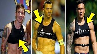 """هل تعلم لماذا يرتدي الرياضيون هذا الجهاز""""حمالة الصدر""""؟"""