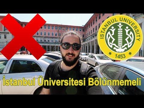 İstanbul Üniversitesi Bölünmemeli!