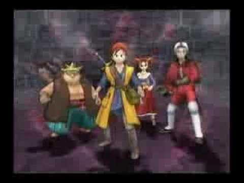 Dragon Quest 8 (PS2) Trailer #2