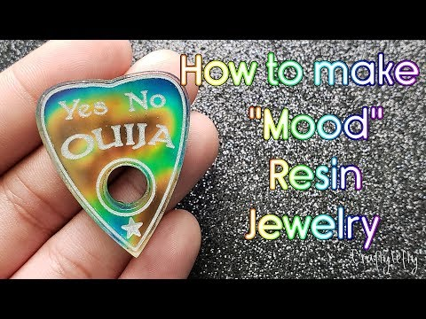 "How to Make ""Mood"" Resin Jewelry!"