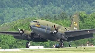 "C-46 Commando ""Tinkerbell"" WWII Weekend 2017 - Saturday"