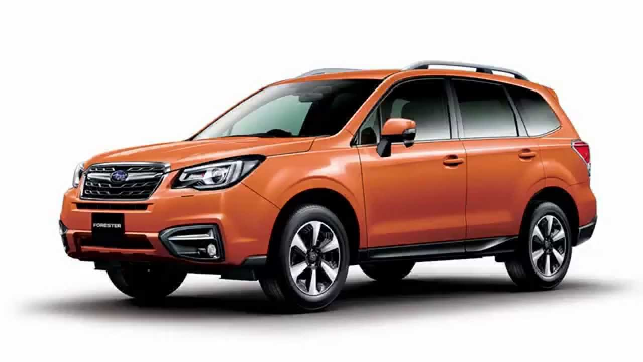subaru forester gets facelift for japan - youtube