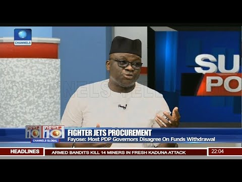 Fighter Jets Procurement: Most PDP Governors Disagree On Funds Withdrawal