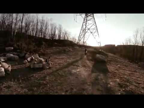 Drone Flying Over Split Rock Reservoir Wall Boonton NJ