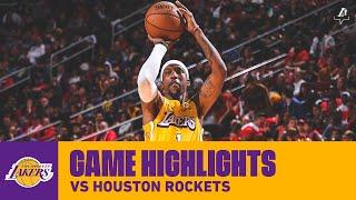 HIGHLIGHTS   Los Angeles Lakers At Houston Rockets