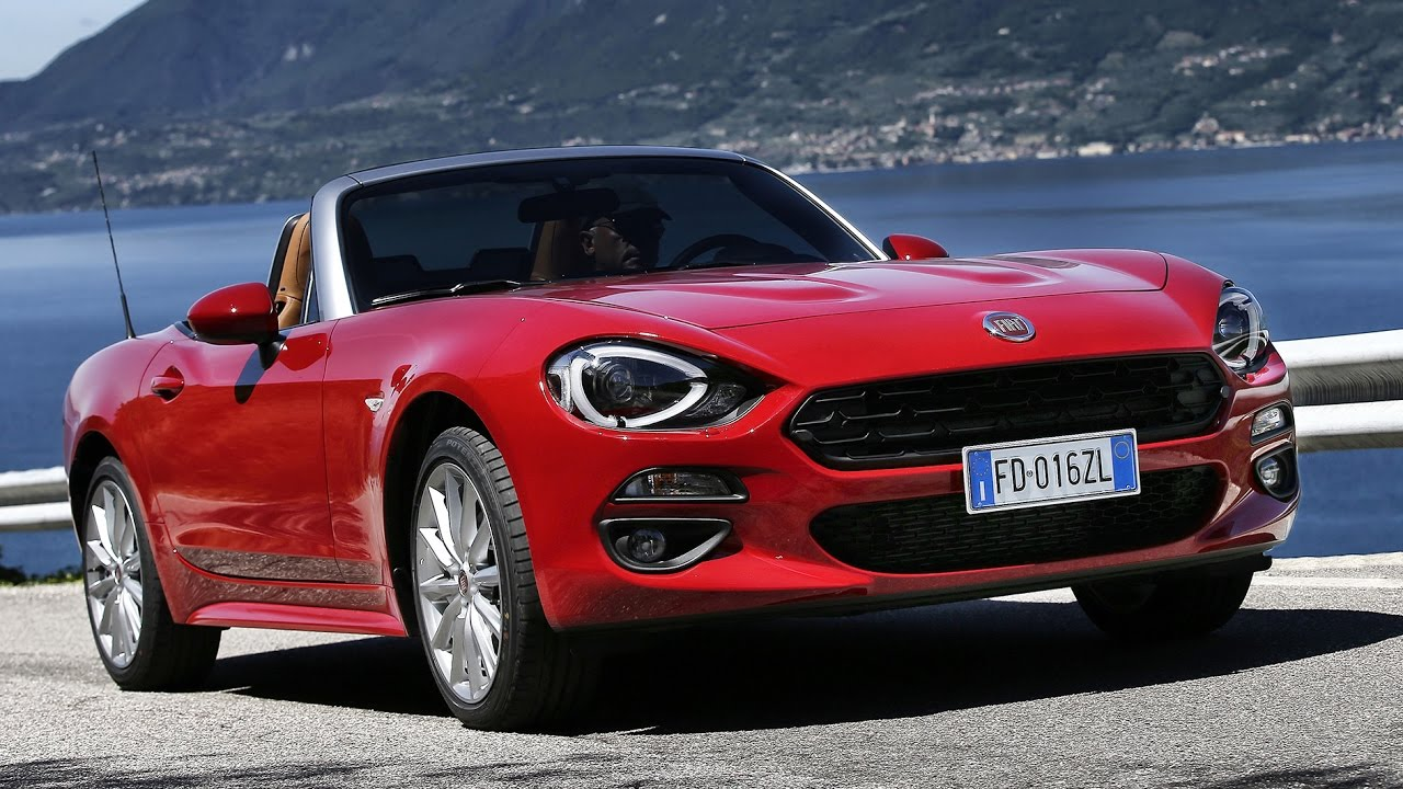 fiat 124 spider im test fahrbericht review neues cabrio 2017 deutsch youtube. Black Bedroom Furniture Sets. Home Design Ideas