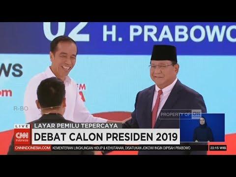 Ini Pernyataan Pamungkas Jokowi & Prabowo | Closing Statement Debat Kedua Capres - Segmen 6/6