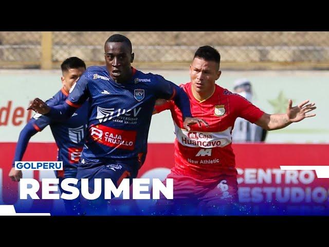 Resumen Sport Huancayo Vs Universidad Cesar Vallejo 0 0 Liga1movistarxgolperu Alientadesdecasa Youtube