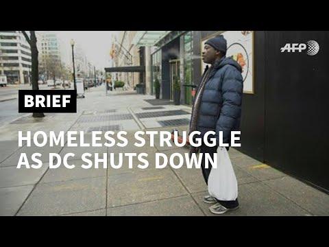 DC homeless struggle