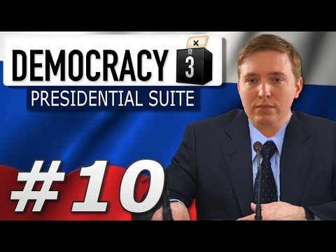 Democracy 3: Presidential Suite | Russia  -  Year 10