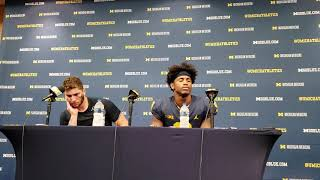 Michigan 45, SMU 20: Wolverines QB Shea Patterson and WR Donovan Peoples-Jones