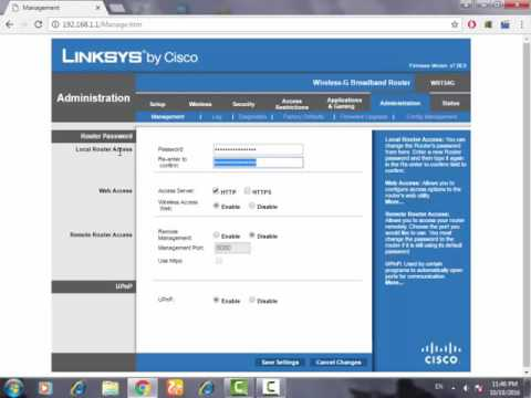 How To Change The Admin Word Of Linksys Routers