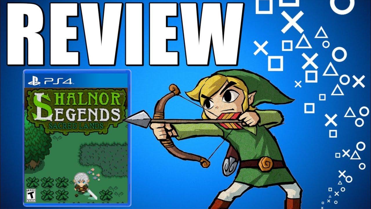 ZELDA ON PS4 - New Playstation 4 RPG Game Review (Shalnor Legends Sacred  Lands PS4 Worth It?)