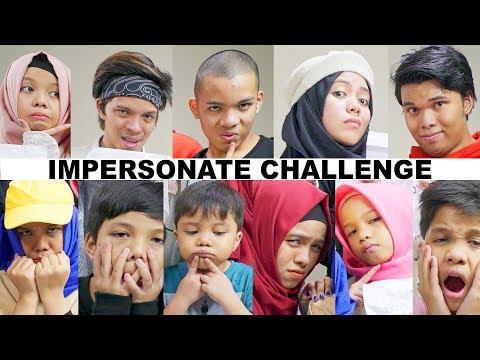 Impersonate Challenge (ROASTING Sesama) | Gen Halilintar Impersonate Each other