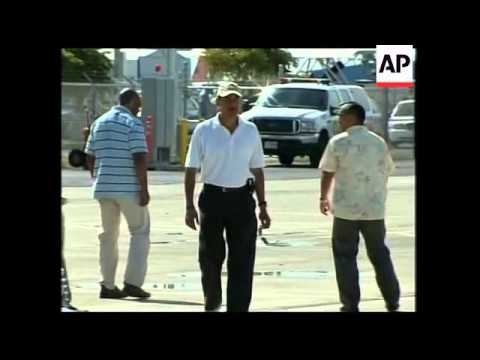 President-elect and family leave Hawaii after holiday