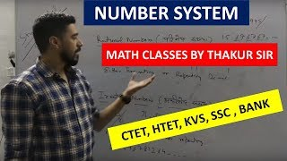 NUMBER SYSTEM BY VISHAL THAKUR SIR