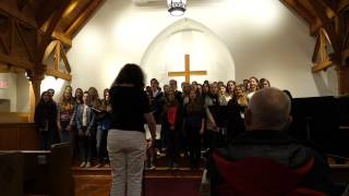 Ebelu Choir, San Luis Obispo, California USA, May 14, 2015