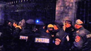 Լարված իրավիճակ Բաղրամյան պողոտայում. «Կարմիր քարտ»-ի 4 անդամի բերման ենթարկեցին