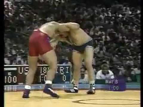KurtAngle's Olympic Gold Medal Win (1996 Atlanta)