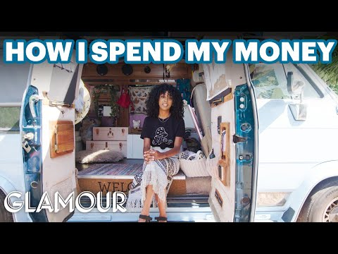 How YouTuber Jennelle Eliana Spends Her Money While Living in a $2.5K Van | Glamour