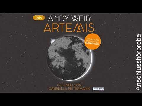 Artemis YouTube Hörbuch Trailer auf Deutsch