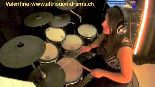 AltrisuoniDrumSchool - Valentina Lokumcu - You're beautiful (E-drum cover - James Blunt)