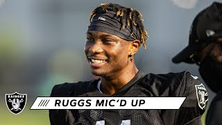 "Henry Ruggs III Mic'd Up at 2020 Training Camp: ""Having Fun Today!"" 