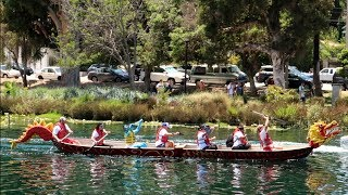 #711 DRAGON BOAT RACES at The Lotus Festival - Echo Park - Daily Vlog (7/18/18)