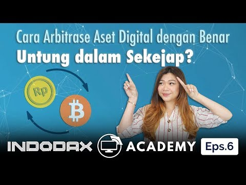 Indodax Academy Episode 6: Cara Arbitrase Agar Untung Dalam Sekejap!