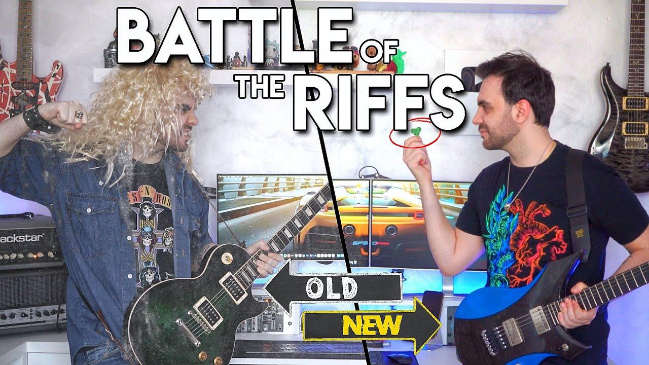 Battle Of The RIFFS: OLD SCHOOL vs MODERN ROCK