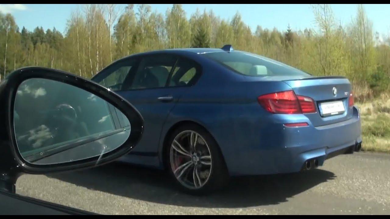 F10 BMW M5 vs Porsche Panamera Turbo S 550 HP x 2 races  YouTube