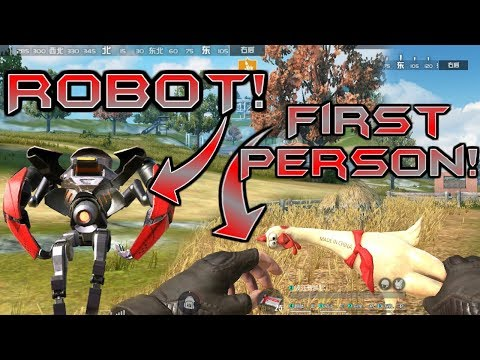 *NEW* FIRST PERSON VIEW & ROBOTS COMING TO Rules of Survival! | Update Sneak Peak!
