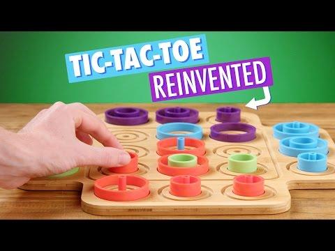 Otrio: Amped-up Tic-Tac-Toe