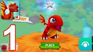 DragonVale World - Gameplay Walkthrough Part 1 - Level 1-6 (iOS, Android)