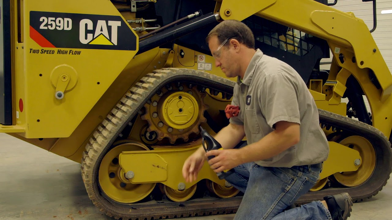 How to Change the Final Drive Oil on a Cat® Compact Track Loader