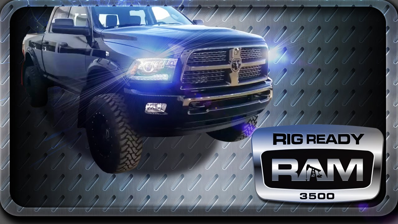 2014 Ram 3500 Blacktop Edition - Fox Shocks - BDS Lift ...