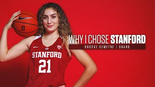 Stanford women's basketball: why i chose   brooke demetre
