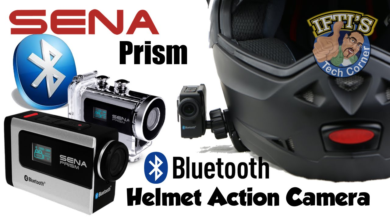 Sena Prism - Bluetooth Action Helmet Camera : Unboxing & REVIEW