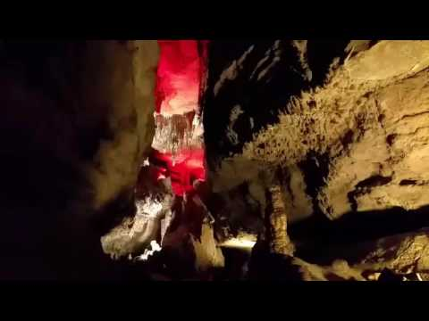 Ruby Falls, Chattanooga TN Clip