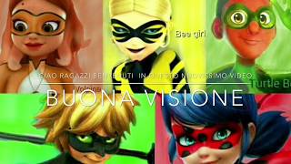 Chat tra Ladybug,Chat Noir e Queen B #2