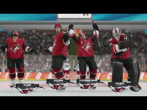 NHL 18 Beta - Columbus Blue Jackets v Arizona Coyotes (NHL Threes)