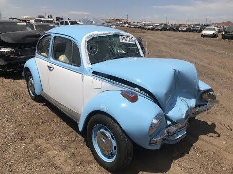 1972 Volkswagen Beetle for sale 8/26/2019 at Copart in Phoenix!