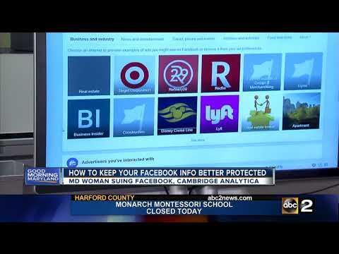 Maryland woman suing Facebook, Cambridge Analytica