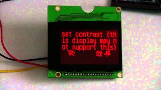 Serialuarti2cspi 128x64 large lcd with backlight st7920 controller
