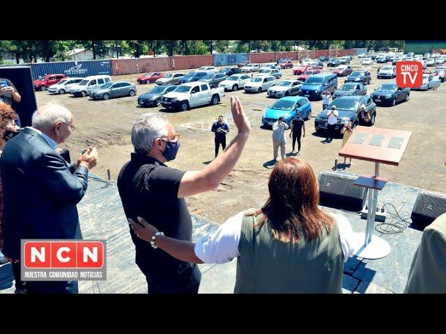 CINCO TV - Julio Zamora acompañó el cierre de año de Iglesias Unidas de Tigre